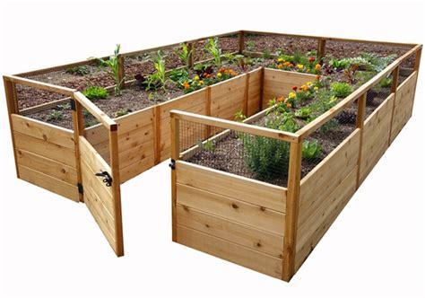 Cedar Raised Garden Bed 8'x12'