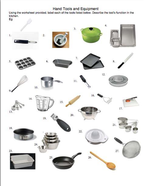 hand tools  equipment cwdhs food school hospitality