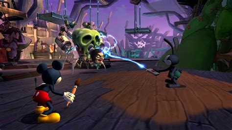 Disney Epic Mickey 2 The Power Of Two The Power Of