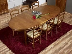 Table De Salle A Manger Ovale : table ovale de salle manger estelle en merisier massif de style louis philippe 170 110 2 ~ Teatrodelosmanantiales.com Idées de Décoration
