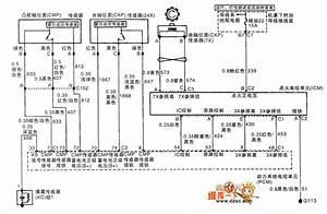 The 3 0l Engine Cmp Sensor  Ckp Sensor And Icm Circuit Of Shanghai Gm Buick