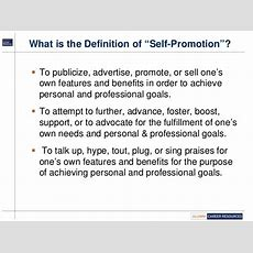 Career Webinar Amber Tb  Mastering The Art Of Selfpromotion