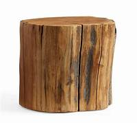 wood stump table Reclaimed Wood Stump Table | Pottery Barn