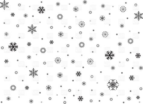 Border Snowflake Background Clipart by Black Snowflakes Background Vector Clipart Geekchicpro