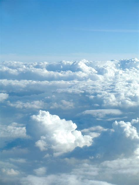 View Of The Sky by Free Lift Plane View Of Sky Stock Photo Freeimages