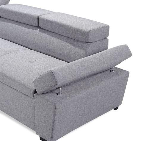 canap d angle 5 places convertible canapé d 39 angle convertible 5 places quot quot 255cm gris