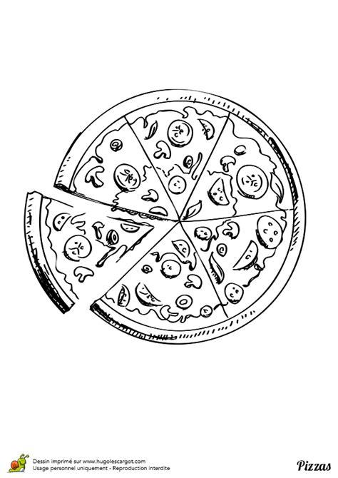 jeux de cuisine de poisson coloriage pizza vegetarienne sur hugolescargot com