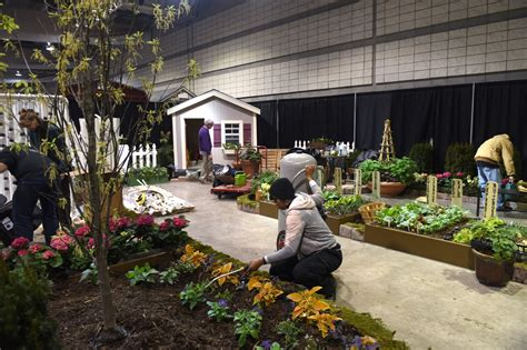 pittsburgh home and garden show bidwell center stages two gardens at home show