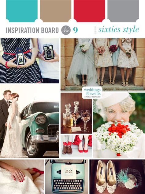 Inspiration Board: Sixties Style Bohemian chic weddings