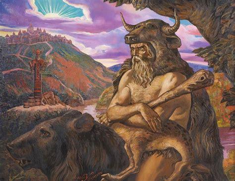 veles the slavic shapeshifting god of land water and