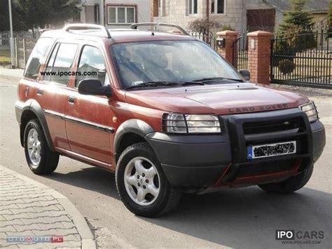 land rover freelander 2000 2000 land rover freelander 2 0 td4 4x4 alu air hak car