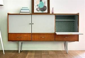 Meuble Scandinave Vintage : enfilade scandinave les jolis meubles meuble vintage vintage furniture pinterest ~ Teatrodelosmanantiales.com Idées de Décoration