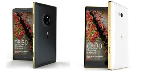 microsoft steckt zwei lumia smartphones ins gold kleid 187 inside handy