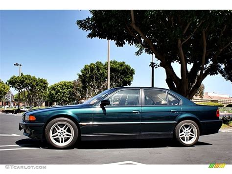 Oxford Green Metallic 2000 Bmw 7 Series 740i Sedan