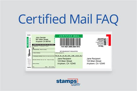 usps certified mail faq sts