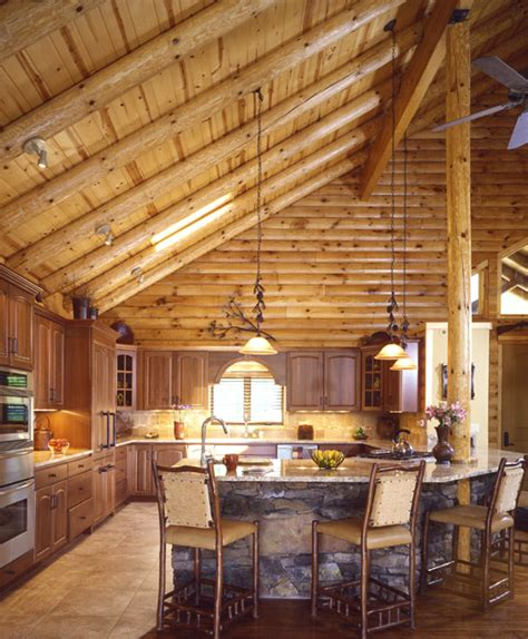 Homes With Cathedral Ceilings Ideas by Building A New Log Home In 2013 Vs 171 Real Log