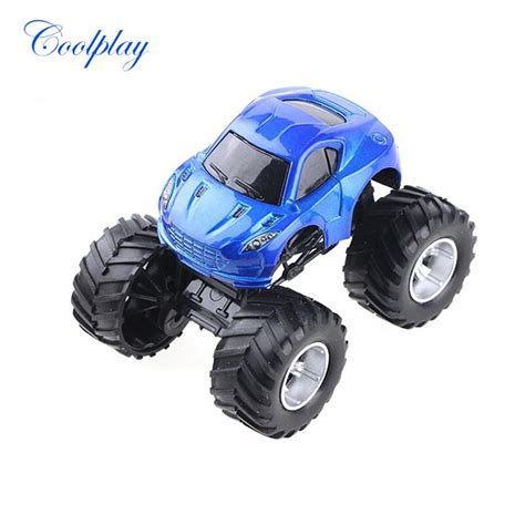 mini cross country alloy car model  road vehicle big tire model car educational toys