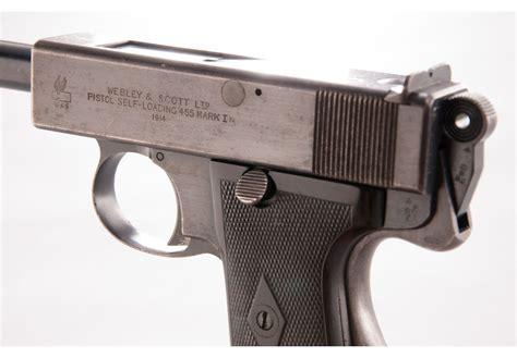 webley 1913 mk i semi automatic pistol