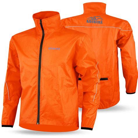 best mtb rain jacket mens cycling rain jacket waterproof high visibility