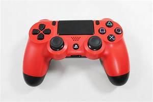 Playstation 4 PS4 Magma Red Controller