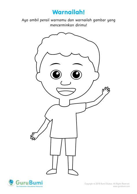 latihan menggambar anak sd kelas 1
