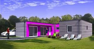 Maison Modulaire Bois : la maison bois modulaire est l habitat de demain eco ~ Melissatoandfro.com Idées de Décoration