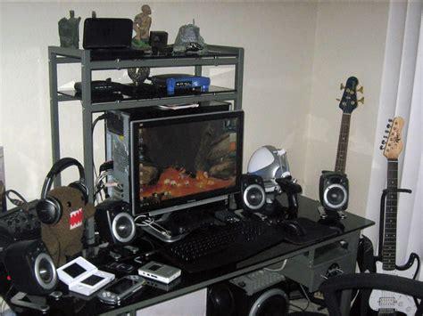 kumpulan gambar meja komputer gaming  keren blog