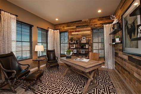 ingenious ways  bring reclaimed wood   home office