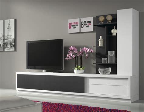 comptoir bar cuisine ikea ensemble meuble tv blanc et noir design armand