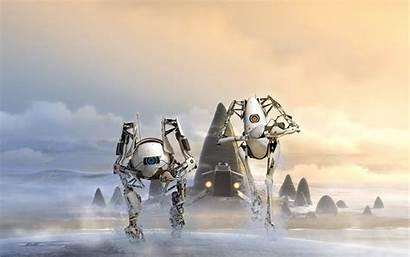 Portal Atlas Robots Wallpapers 4k 1440 2560