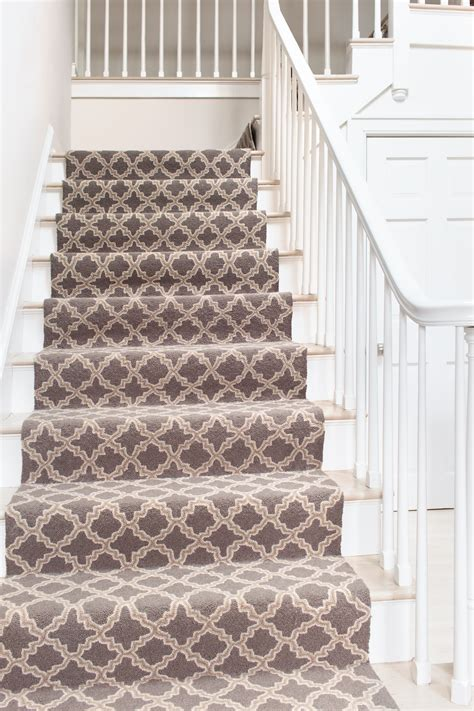 carpet runners for stairs how to choose a runner rug for a stair installation