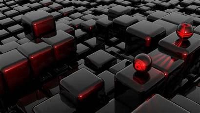 3d Cubes Abstract Spheres Dark Purple Wallpapers