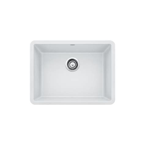 white composite kitchen sinks blanco precis undermount granite composite 24 in single 1278