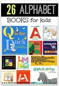 26 alphabet books for kids With letter books for toddlers