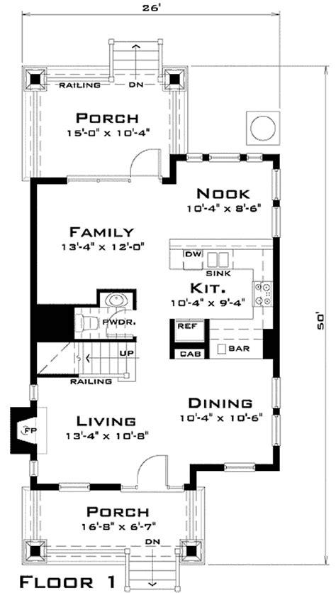 floor plans for narrow lots award winning narrow lot house plan 44037td 2nd floor