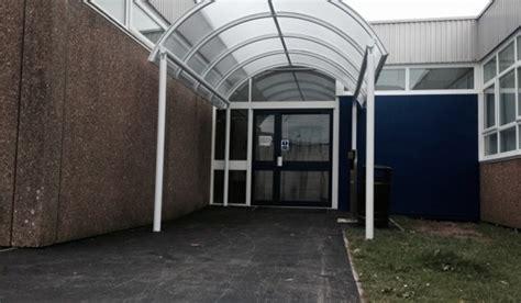 tredegar comprehensive school cardiff  canopies