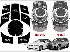 BMW iDrive Repair Kit Replacement Stickers For Select BMW