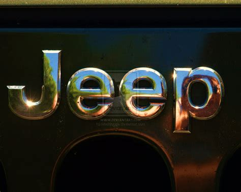 By Sophie Armstrong Jeep Logo Wallpaper