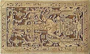 The MAYAS: The Palenque - Maya ancient astronaut.