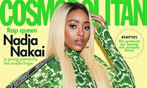south african rapper nadia nakai  cosmopolitan sas august  cover bellanaija