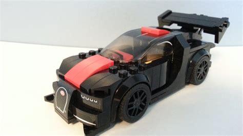 lego speed champions   bugatti chiron black