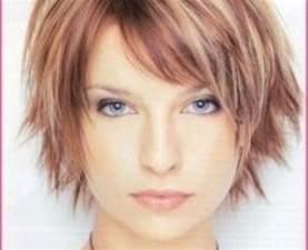coupe de cheveux visage rond femme coupe de cheveux femme court 2017 visage rond