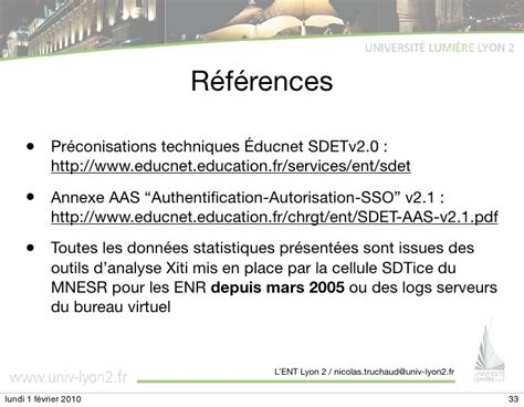 bureau virtuel universite lyon 2 28 images ent