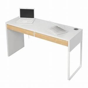 Table De Bureau Ikea : micke bureau blanc modern desk 142 and front rooms ~ Teatrodelosmanantiales.com Idées de Décoration
