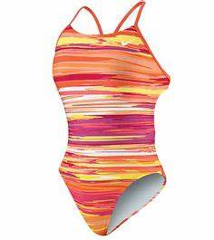 Nike Swim yx Storm Cut Out Tank Swimsuits