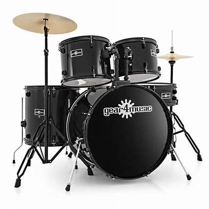Drum Kit Instruments Gear4music Box Starter Ghana