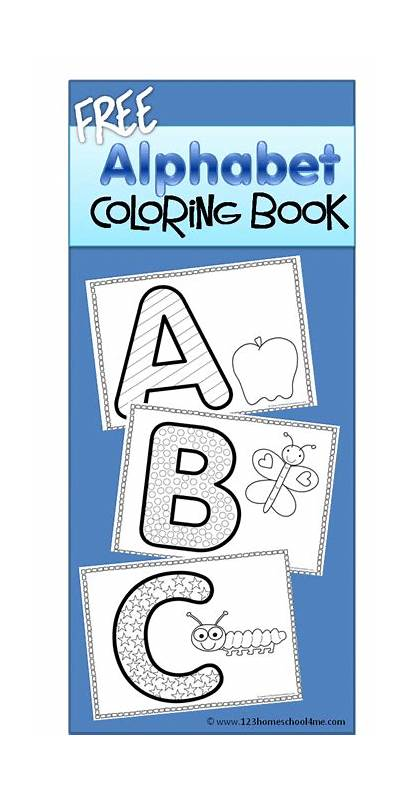 Alphabet Coloring Printables Sheets Preschool Abc Letters