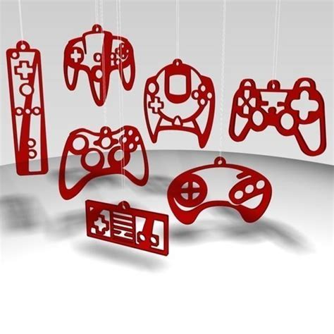 Game Controller Ornaments Boing Boing