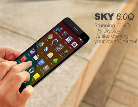 sky cell phone wholesale brand new sky 6 0q black 4g android gsm unlocked