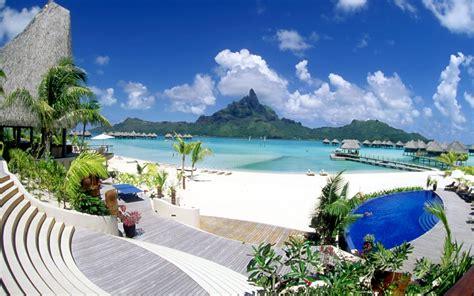 bora bora paradise island hd wallpaper